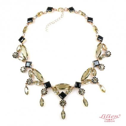 LILIEN(リリアン)Black Tone Necklace