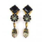 LILIEN(リリアン)Black Tone Earring