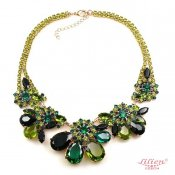 LILIEN(リリアン)Green Flower Necklace