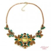 LILIEN(リリアン)Green Floral Necklace