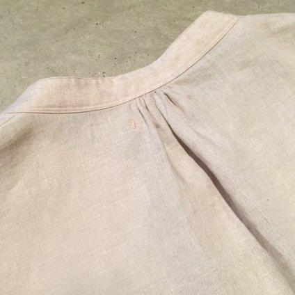ikkuna/suzuki takayuki puff-sleeve one-piece (イクナ/スズキタカユキ パフスリーブワンピース) Nude