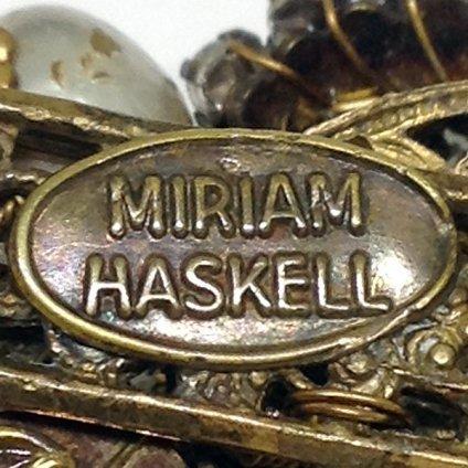 MIRIAM HASKELL (ミリアム ハスケル) ブローチ