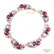LILIEN(リリアン)Pastel Purple Multi-Color Necklace