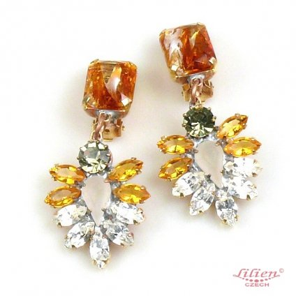 LILIEN(リリアン)Amber Square Earring