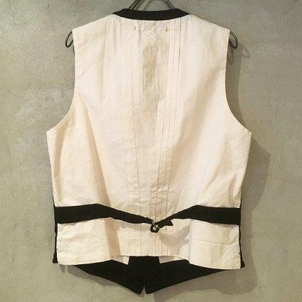 suzuki takayuki waist coat� (スズキタカユキ ウェストコート�) Black/Men's