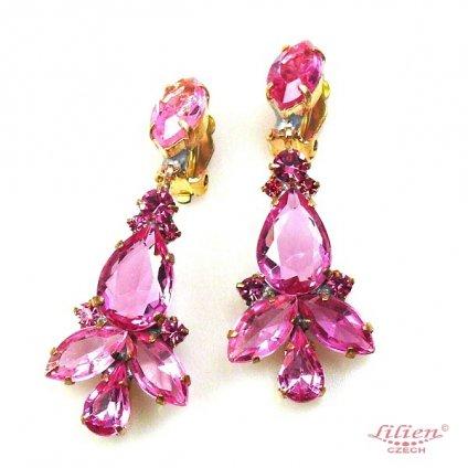 LILIEN(リリアン)Pink Drop Swing Earring