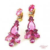 LILIEN(リリアン)Pink Drop Swing Earring