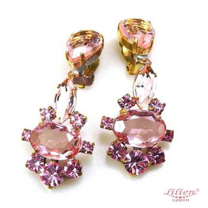 LILIEN(リリアン)Pink Oval Earring