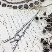 Silver Paste Glass Pendant(シルバー ペーストガラス ペンダント)