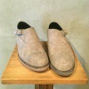 【30%OFF】BEAUTIFUL SHOES(ビューティフルシューズ)Singlemonk Shoes Gray Horse