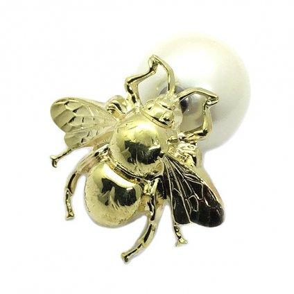 AHCAHCUM Bee Pierce(あちゃちゅむ ハチ 片耳用ピアス)