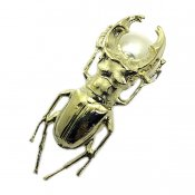 AHCAHCUM Stag beetle Pierce(あちゃちゅむ クワガタ 片耳用ピアス)
