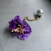 【40% OFF】AHCAHCUM Flower Long Pierce(あちゃちゅむ フラワーロングピアス)