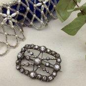 Victorian Paste Glass Brooch (ヴィクトリアン ブローチ)