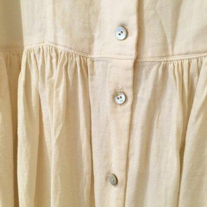 ikkuna/suzuki takayuki gathered dress (イクナ/スズキタカユキ ギャザードドレス) Nude