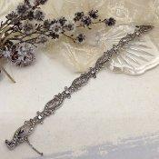 1920's Silver Marcasite Bracelet (1920年代 シルバー マーカサイトブレスレット)