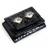 AHCAHCUM EyeBall PassCase Black(あちゃちゅむ アイボール パスケース)