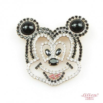 LILIEN(リリアン)Smiling Mickey Brooch