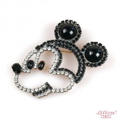 LILIEN(リリアン)Close  Mickey Brooch
