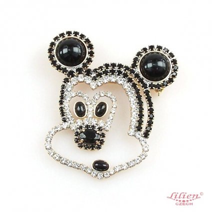 LILIEN(リリアン)wondering  Mickey Brooch