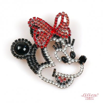 LILIEN(リリアン)Minnie Brooch