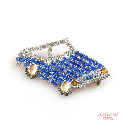 LILIEN(リリアン)Blue Car Brooch