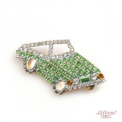 LILIEN(リリアン)Green Car Brooch