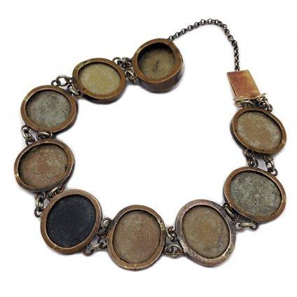 Victorian Rava Cameo Bracelet (ヴィクトリアン ラーヴァカメオ ブレスレット)