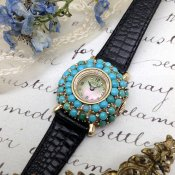 LUCIEN PICCARD TURQUOISE WATCH (ルシアン ピカール ターコイズウォッチ)