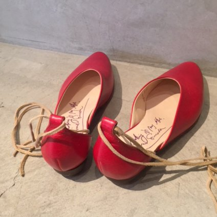 SONOMITSU(ソノミツ)Lace Up Shoes Red
