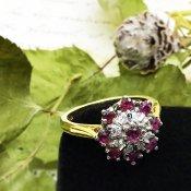 1950's Daiamond×Ruby Ring(1950年代 ダイヤモンド×ルビー リング)