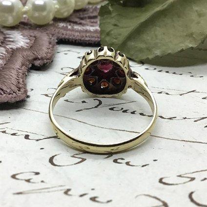 Victorian~Art deco Garnet Ring(ヴィクトリアン~アールデコ ガーネット リング)