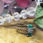 1920~1930's Emerald×Diamond Ring (1920~1930's エメラルド×ダイヤモンド リング)