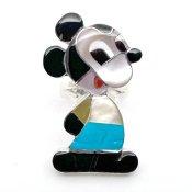 Paula Leekity Ring Mickey Mouse(ポーラ リーキティ リング10号 ミッキーマウス全身 黄色い洋服)