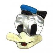 Paula Leekity  Brooch Pendant top Donald Duck(ポーラ リーキティ ブローチ・ペンダントトップ ドナルドダック)