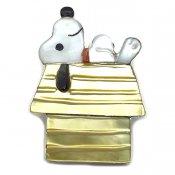 Paula Leekity Brooch Pendant top Snoopy(ポーラ リーキティ ブローチ・ペンダントトップ スヌーピー)