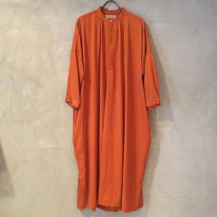 suzuki takayuki slip-on dress (スズキタカユキ スリップオンドレス) Orange