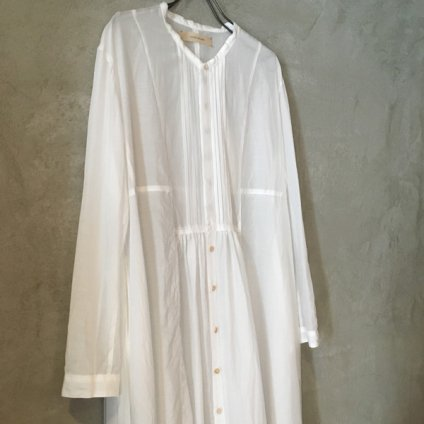 suzuki takayuki gatherd dress (スズキタカユキ ギャザードレス) Nude