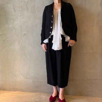 suzuki takayuki camisole blouse (スズキタカユキ キャミソールブラウス) Nude