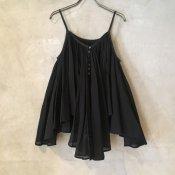 【20%OFF】suzuki takayuki camisole blouse(スズキタカユキ キャミソールブラウス)Black