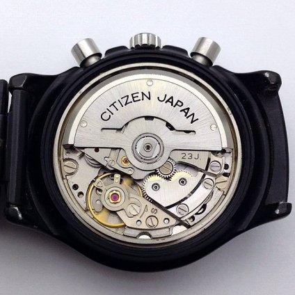 CITIZEN (シチズン) チャレンジタイマー クロノグラフ ブラッキー