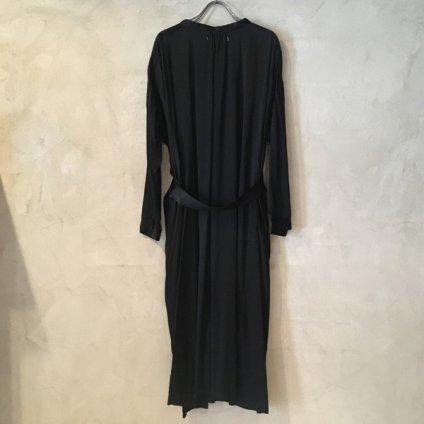 suzuki takayuki over dress (スズキタカユキ オーバードレス) Black