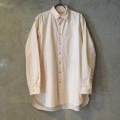 suzuki takayuki pocketed shirt (スズキタカユキ ポケッテッドシャツ) Nude/Men's