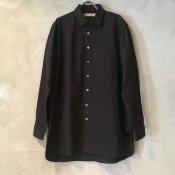 【20%OFF】suzuki takayuki pocketed shirt (スズキタカユキ ポケッテッドシャツ) Black/Men's
