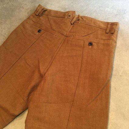 【30%OFF】suzuki takayuki pasted pants (スズキタカユキ ペーストパンツ) Orange/Men's
