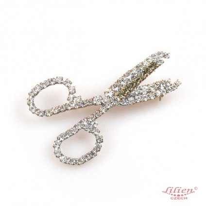 LILIEN(リリアン)Scissors Brooch
