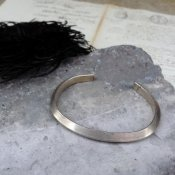 Triangle Wire Silver Bracelet (トライアングルワイヤー シルバーバングル)