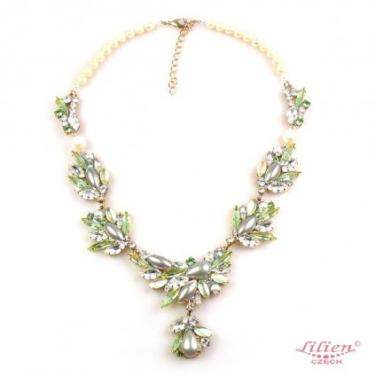 LILIEN(リリアン)Pure Wonder Pale Green Necklace