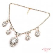 【50%OFF】LILIEN(リリアン)CrystalCaress Necklace