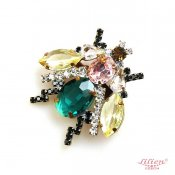 LILIEN(リリアン)Green Insect Brooch